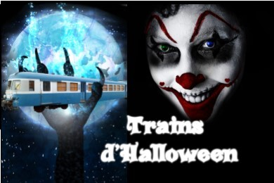Trains d'halloween 2020